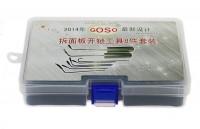 GOSO最新拆防盗门面板工具8件套装图片