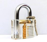 普通透明挂锁练功锁图片