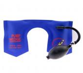 KLOM韩国蓝色帆布版 U型气囊 PUMP WEDGE