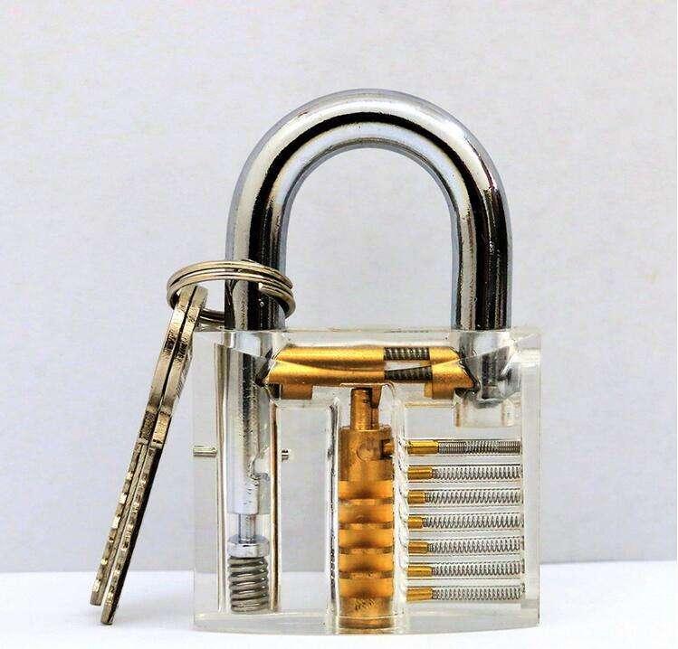 透明练功锁