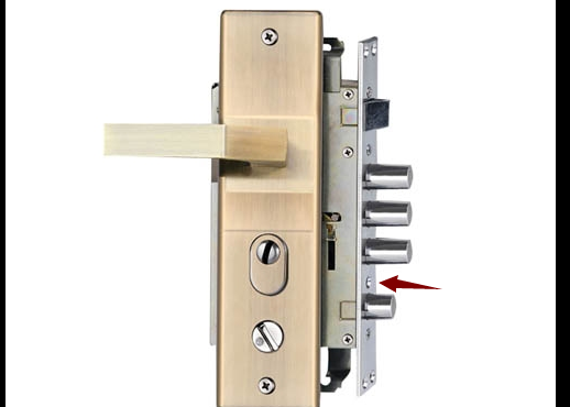 怎么换防盗门锁芯?防盗门锁拆装更换锁芯方法