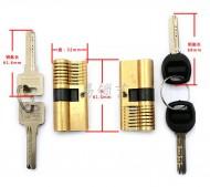 双头单排卡巴练功锁芯一个