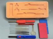 叶片锁工具的使用方法 叶片锁工具三件套视频