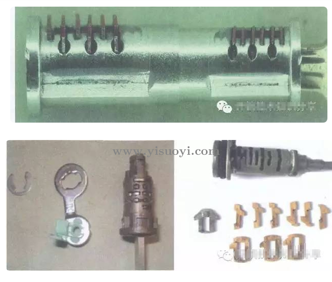 汽车锁原理图解与汽车锁的分类