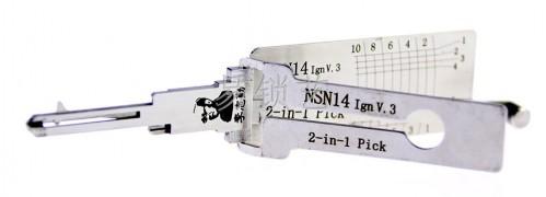 李氏二合一NSN14 IgnV.3 点火专用 李氏读开二合一图片