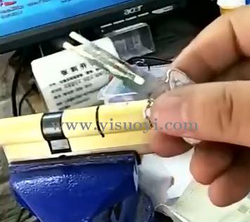 C级叶片锁快开组合工具演示视频