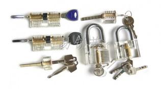 透明锁六件套餐组合图片