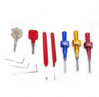 百城精工最新款十字快开套装,填料钥匙+十字试开钥匙