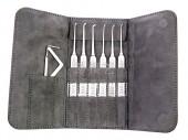 单钩工具使用方法:点珠法、平推动法、抖动法、迅速拨动法