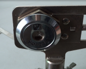 半圆锁刷钩开启保险柜半圆锁使用视频演示