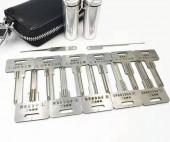 麒麟精工锡纸工具11件套装 单排 双排曲线槽 超B可单独购买