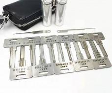 麒麟精工锡纸工具11件套装 单排 双排曲线槽 超B可单独购买图片