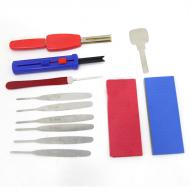 叶片锁复合定齿工具三代 叶片锁 C级锁芯工具套装图片