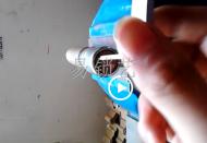 半圆锡纸工具开启保德安锁视频演示