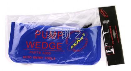KLOM韩国蓝色帆布版 大号气囊 PUMP WEDGE