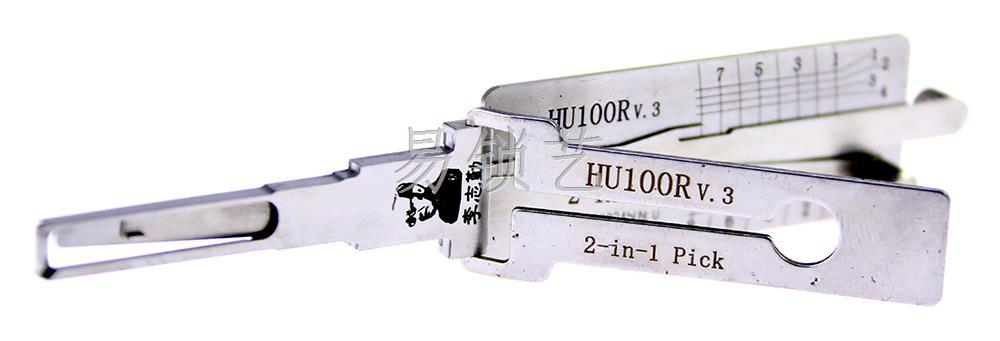 李氏二合一HU100R v.3 点火 李氏读开二合一