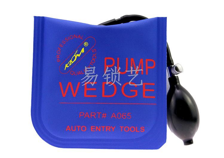 KLOM韩国蓝色帆布版 中号气囊 PUMP WEDGE