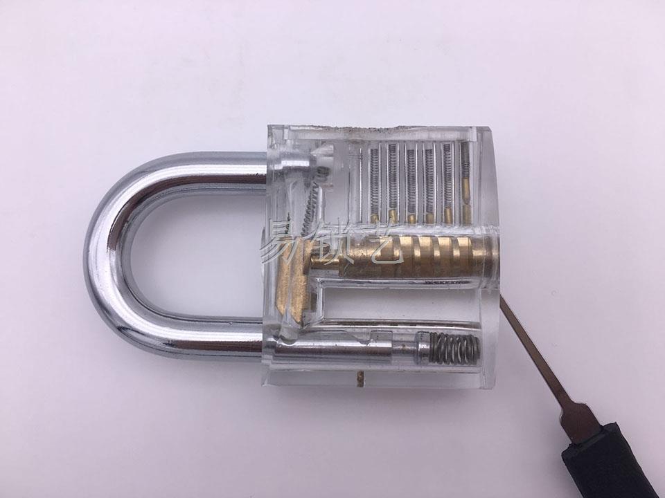 挂锁梳子快开的详细使用方法介绍