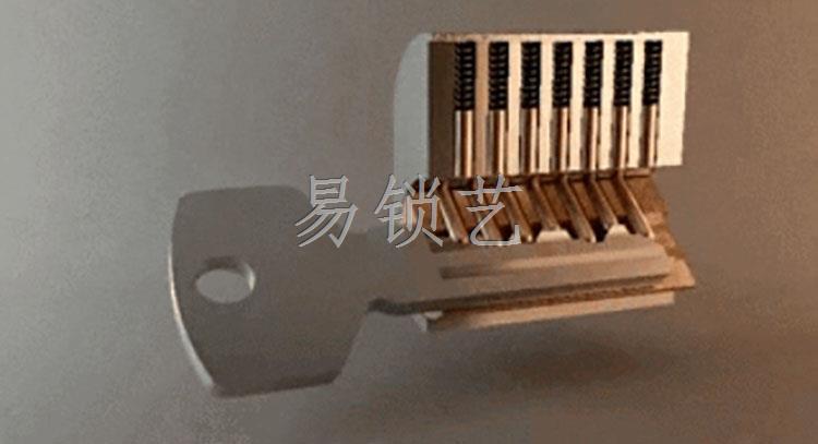 单钩开锁工具使用说明