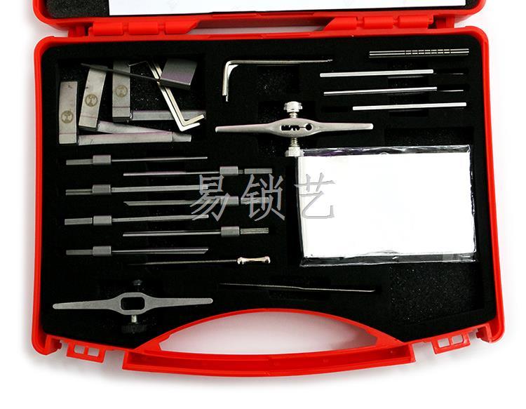 锡纸工具的首要原理,错位开锁法