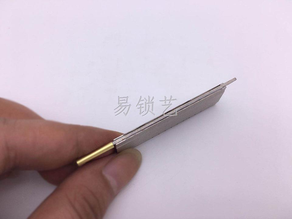 成品锡纸条制作过程说明